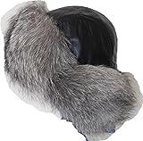 ロシア 防寒 帽子 ミリタリー 毛皮 ファー ラクーン フォックス メンズ M サイズ 【山根屋オリジナル】