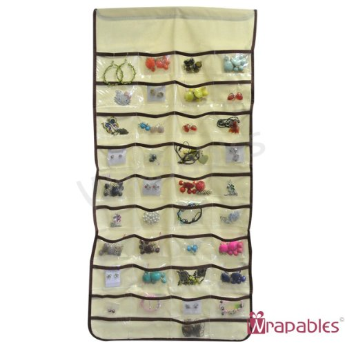 Aspire 80-Pocket Hanging Jewelry Organizer, Gift Idea
