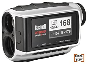 Bushnell Hybrid Pinseeker Laser Rangefinder & GPS Unit Refurbished