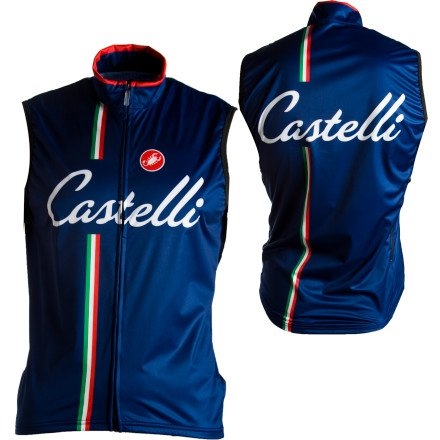 Image of Castelli Ganna Cycling Vest - Men's (B004F67KAI)