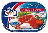 Appel Heringsfilets Tomaten-Creme, 10er Pack (10 x 200 g Dose)