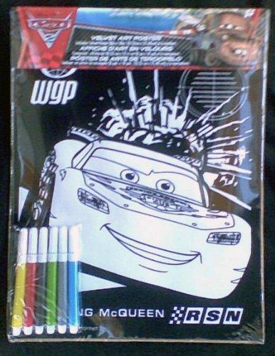 Disney Pixar Cars Velvet Doodle Kit