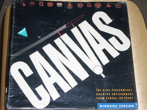CANVAS Windows Version 1.0, 1993, 3.5.2, High Performance Drawing Environment From Deneba Software (Performance Drawing compare prices)