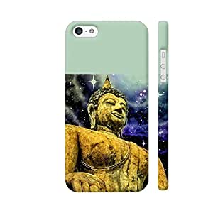 Colorpur Buddha Asia Zen Yoga Artwork On Apple iPhone SE Cover (Designer Mobile Back Case)   Artist: WonderfulDreamPicture