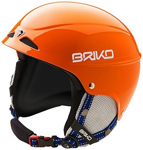 Briko Pico Casco Per Ragazzi con Calotta in Abs, Arancione, M