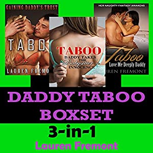 Daddy Taboo Boxset Audiobook