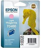 Epson T0486 Cartouche d'encre d'origine Magenta clair
