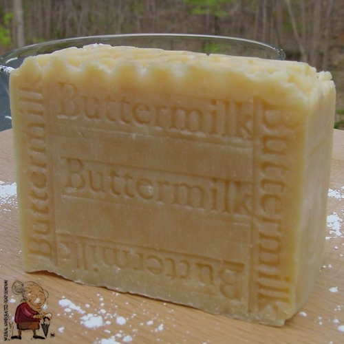 Handcrafted Buttermilk With Honey And Mango Butter Soap