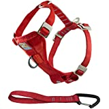 Kurgo 3055 Series Tru-Fit Enhanced Strength Dog Harness, X-Large, Red