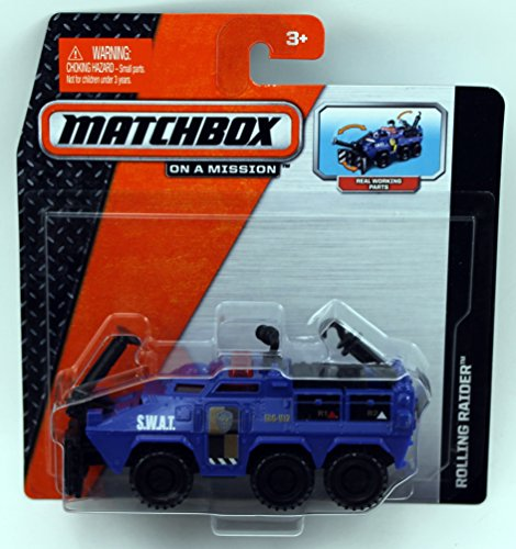 Matchbox On A Mission Real Working Rigs - Rolling Raider - 1