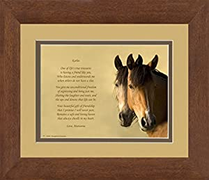 Poem: 8x10 Double Matted. Special Best Friend Gifts. Birthday