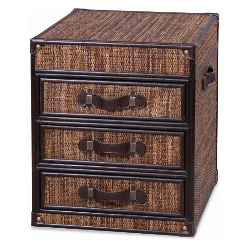 Image of 3 Drawer Chest End Table on Casters (T2088-200)