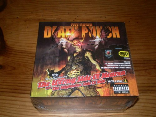 FIVE FINGER DEATH PUNCH - WRONG SIDE OF ... : VOLUME ONE (2CD SET)