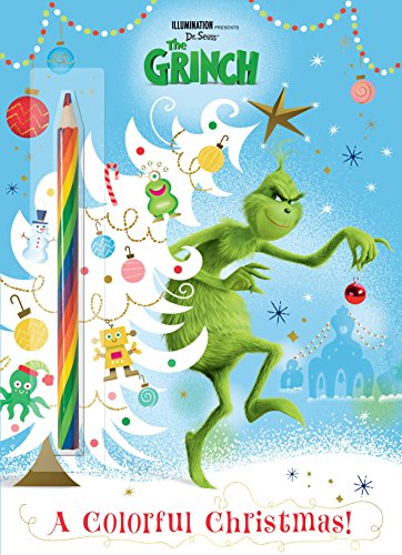 A Colorful Christmas! (Illuminations The Grinch) (Illumination Presents Dr. Seuss The Grinch) [Man-Kong, Mary] (Tapa Blanda)