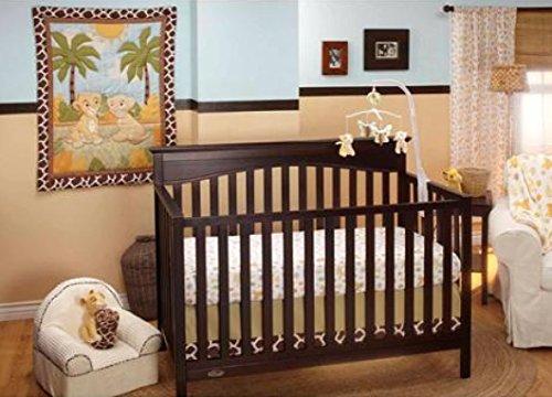 Baby-Kinderbett-Bettwsche-Sets-Disney-Lion-King-Jungle-Fun-3-Baby-Kinderbett-Betten-Sets