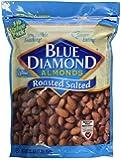 Blue Diamond Almonds, Roasted Salted, 16 oz