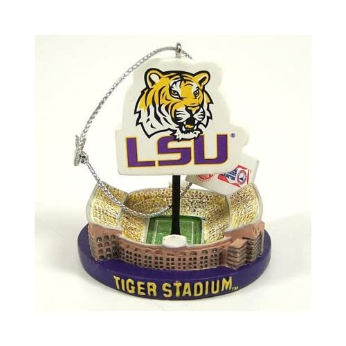 LSU TIGERS OFFICIAL TIGER STADIUM CHRISTMAS ORNAMENT