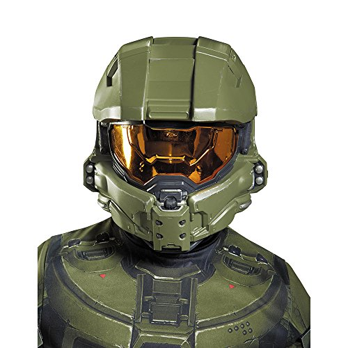 Disguise Master Chief Child Half Mask Costume