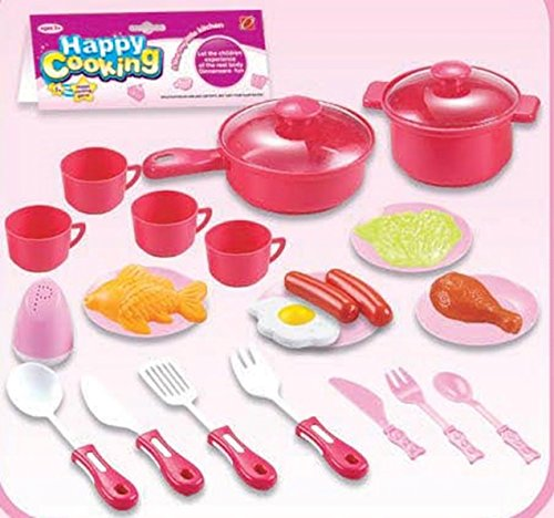 kids-cooking-chef-kitchen-playset-toys-cups-plates-knife-fork-spoon-pan-pot-plastic-food-salt-shaker
