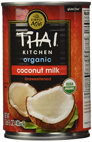 Thai Kitchen Organic Coconut Milk, 13.66 oz. (Pack of 12)