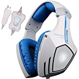 SADES A60 7.1 USB Surround Sound Stereo Over-the-Ear Gaming Headset With Mic Bass Vibration Noise-Canceling Volume... - B01DLZD0P2