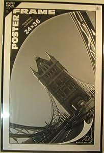 NAE Acrylic/Mylar Poster Frame with Plexiglass 24X36