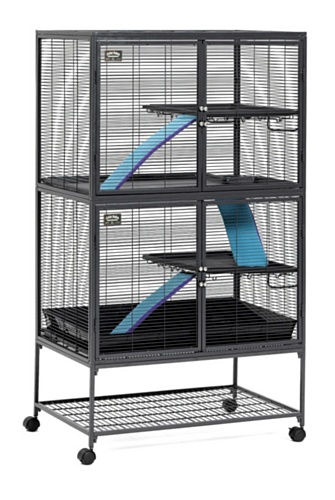 Critter-Nation-Small-Animal-Cage-with-Stand