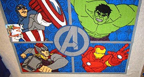 Marvel Avengers Quot Assemble Patchwork Quot Accent Rug 31 Quot X 44
