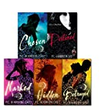 P C Cast The House of Night Collection 5 Books Set, By P C Cast and Kristin Cast, (Marked, Chosen, Betrayed, Hidden and Destined)