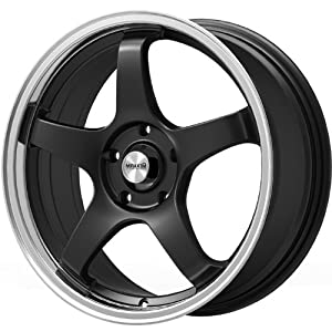 Maxxim Champion 17 Black Wheel / Rim 4×100 & 4×4.5 with a 40mm Offset and a 73.10 Hub Bore. Partnumber CM77D04405