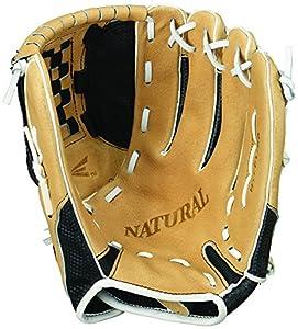 Easton Natural Elite Fastpitch Series Softball Glove, 11.5-Inch, Left Hand Throw