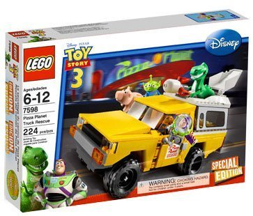 LEGO Disney / Pixar Toy Story 3 Exclusive Special Edition Set #7598 Pizza Planet Truck Rescue Amazon.com