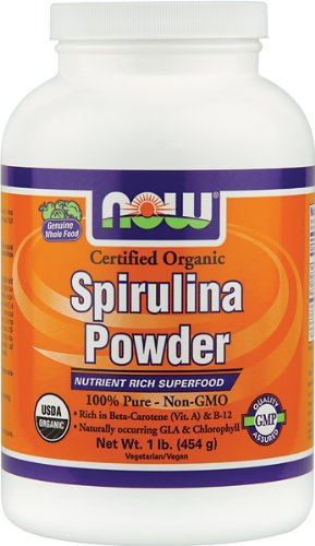 Now Foods, ORGANIC SPIRULINA POWDER