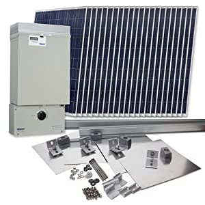Grape Solar GS-5060-KIT Residential 5,060 Watt Grid-Tied Solar Power System Kit (Discontinued by Manufacturer)