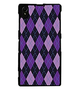 ColourCraft Pattern Design Back Case Cover for SONY XPERIA Z1