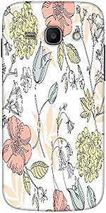 Snoogg Seamless Vintage Flower Pattern Designer Protective Back Case Cover Fo...