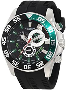 Stuhrling Original Men's 287A.331671 Nautical Nautico Sport Watch with Silicone Rubber Strap