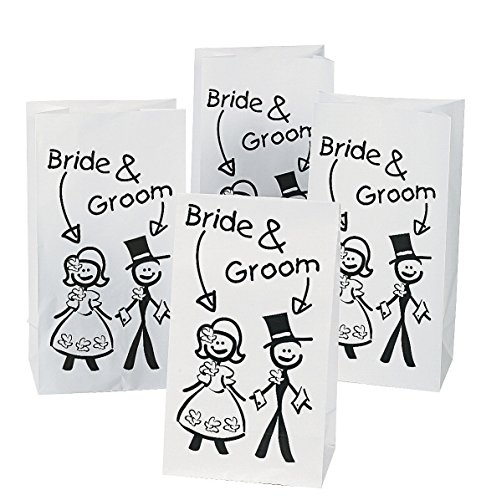 Fun Express Kids Wedding Treat Bags (1 Dozen) - 1