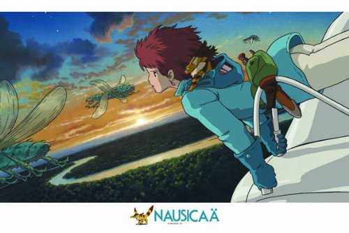 Nausicaa of the Valley of the Wind Puzzle (1000 pcs)