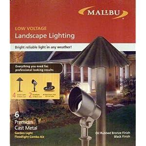 Click to buy Malibu Outdoor Lighting: Malibu Landscape Lighting Garden Light Floodlight Combo Kit from Amazon!