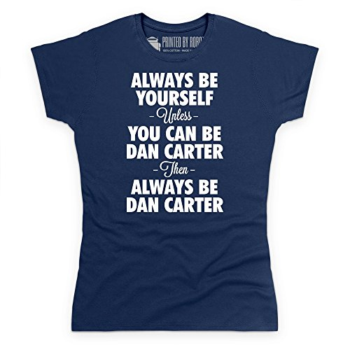 always-be-dan-carter-t-shirt-femme-bleu-marine-m