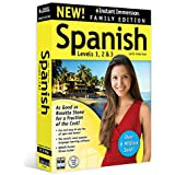 Instant Immersion Spanish Family Edition Levels 1,2 and 3