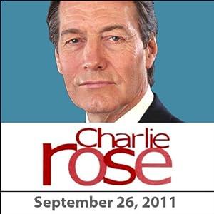Charlie Rose: Benjamin Netanyahu, September 26, 2011 Radio/TV Program