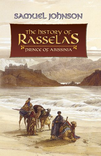 The History Of Rasselas: Prince Of Abissinia (Dover Books On Literature & Drama) front-966885