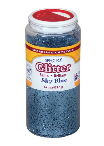 Spectra Glitter, 1 Lb., Sky Blue - 1