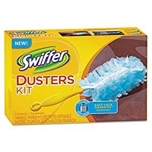 Procter & Gamble Commercial : Disposable Duster, W/Handle, White -:- Sold as 2 Packs of - 1 - / - Total of 2 Each