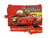 Disney Pixar Cars Lightning McQueen Lanyard with Detachable Coin Pouch - Red