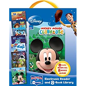 Disney Story Reader Me Reader and 8-Book Library