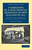 img - for A Narrative of a Nine Months' Residence in New Zealand in 1827: Together with a Journal of a Residence in Tristan D'Acunha, an Island Situated between ... Library Collection - History of Oceania) book / textbook / text book