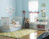 Fisher-Price 6 Piece Nursery Furniture Bundle, Misty Grey